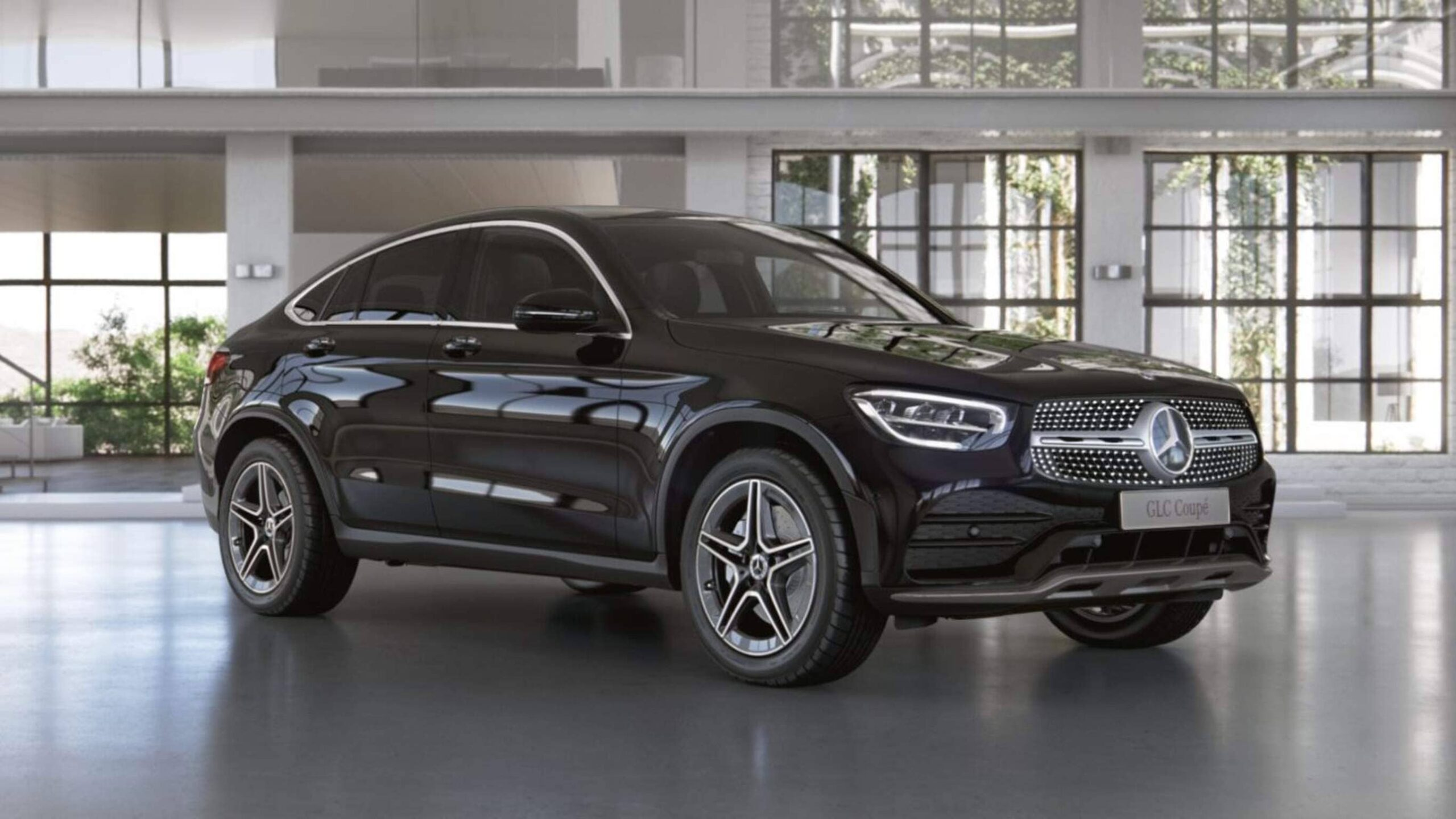 GLC 200 d Coupé Sport Edition.